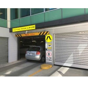 High Speed Carpark Doors for Commercial and Residential Buildings