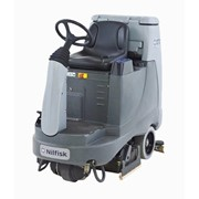 Battery Operated Ride On Floor Scrubber With Cylindrical Deck - BR755C