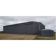 Fully Enclosed Farm Machinery Sheds | 15m x 24m x 5m