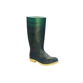 GB714 Jobmaster 2 Gumboots, Safety Toe - Green
