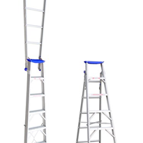 Aluminium Dual Purpose Ladder | INDALEX Pro Series