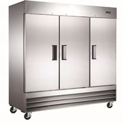Mitchel Refrigeration Stainless Steel Refrigerator - Six Half Door