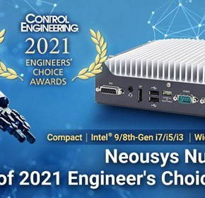 Neousys Nuvo-7531 Wins Control Engineering Engineers' Choice Award