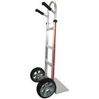 Magliner Hand Truck | Straight Back Extruded Nose Microcellular Wheels