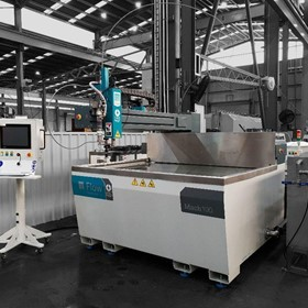 Waterjet Cutting Machine Mach 100
