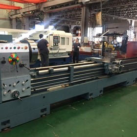 "Taiwanese CNC Lathes | Large Bore 6"" & 9"""