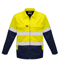 Hi-Vis Workwear I Syzmik Mens Cotton Drill Jacket