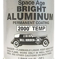 Space Age Bright Aluminum High-Temp Paint | BHSABAAERO