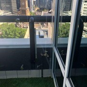 Frameless Safety Balustrades for High Rise Buildings