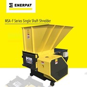 Single Shaft Shredder MSA-F1200 | Wood Pallet Shredder