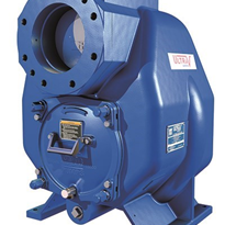 Gorman-Rupp Self Priming Pump for Corrosive Wastewater