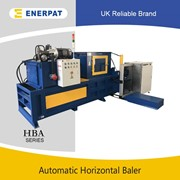 UK Enerpat Automatic Shredded Paper/Cardboard Horizontal Baler
