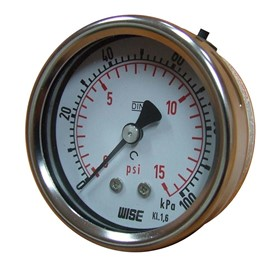 Pressure Gauge | 63mm CBM Stainless Steel Pressure Gauge