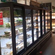 Increase Energy Efficiency of Open Front Refrigerated Cabinets