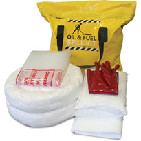 Spill Kit - Oil and Fuel Petrol Pack 47L Absorbent Capacity (SKPP)