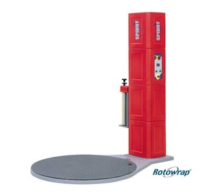 Powered Pre-Stretch Wrapper | Spinny Rotowrap S-300