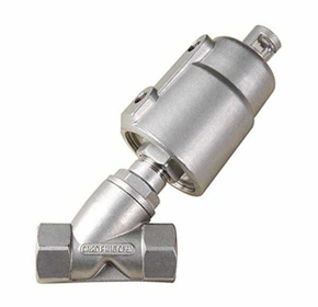 Pneumatic Angle Seat Valve | 100 Series