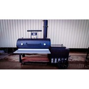 "24"" Offset BBQ Smoker and Fire Box Grill"
