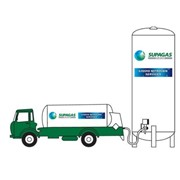 Nitrogen Refrigerated Liquid Industrial Gas