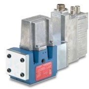 Moog Pilot-Operated Servo Valve with Fieldbus Interface | D670