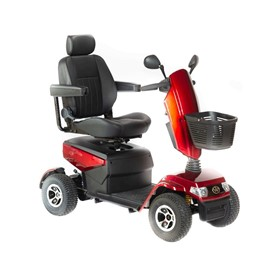 Heavy Duty Mobility Scooter Red