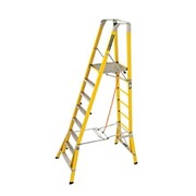 CorrosionMaster Fibreglass Step Platform Ladder | FPS 2.4
