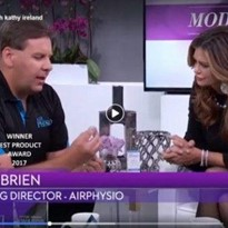 AirPhysio Mucus Clearance OPEP Device Airing on Modern Living with Kathy Ireland on Lung Health