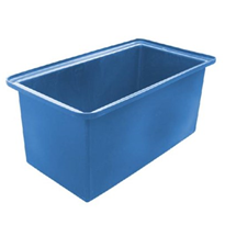 250 Litre Mobile Tub with Stainless Steel Castors