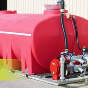 Check out the latest Floodrite build-A RED 13000L for No Bull Building