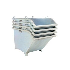 Self Dumping 1500kg Capacity Tipping Bins