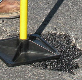 Simple pothole solution QPR pavement repair delivered to your door
