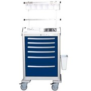 Lightweight Aluminium Anaesthesia Cart | Waterloo UTGKA-333369-DKB