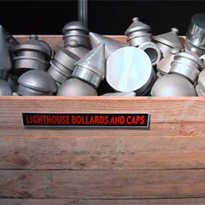 Mill Finished Aluminium Bollard Cap