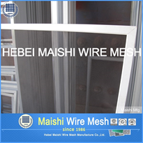 Black Stainless Steel 316 Security Door Mesh 0.75m*2.4m*0.8mm