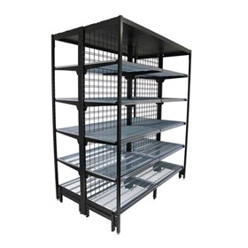 Double-Sided Outrigger Shelving Bay | S-Mart 1830L x 2210H
