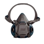3M™ Rugged Comfort Half Facepiece Reusable Respirator | 6500 Series