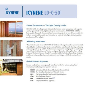 Spray Foam Insulation, Homes & Commercial Buildings | Icynene Coatings