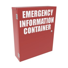 Emergency Information / MSDS Storage Cabinets