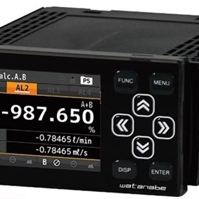 2 Channel Input Digital Panel Meters for Rotation, Speed and Flow Rate