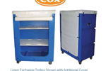 Linen Exchange Trolleys | Bulk Laundry Transport Trolleys