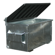 Easyquip | Bins | Steel Front Lift Waste Bins