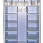 Mobile Medical Storage Cabinet with 3 Compartments | MediCab MC3D