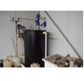 Waste Treatment | Walchem Automatic PH Effluent Waste Treatment Plant