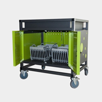 32 Bay Secure iPad and Laptop Trolley