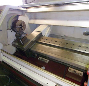Used CNC Lathe | Harrison Alpha 550U
