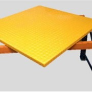RotoLift Rack Rotating Pallet Table with Square OR Round Top