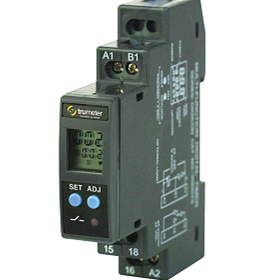 Ucontrol | Dual LCD Display Timer | Din Rail - 7957