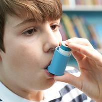 Research studies babies at risk of developing childhood asthma