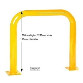 Safety Bollards | U Bar High
