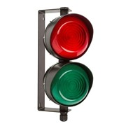 LED Traffic Lights | 2 Aspect 108mm